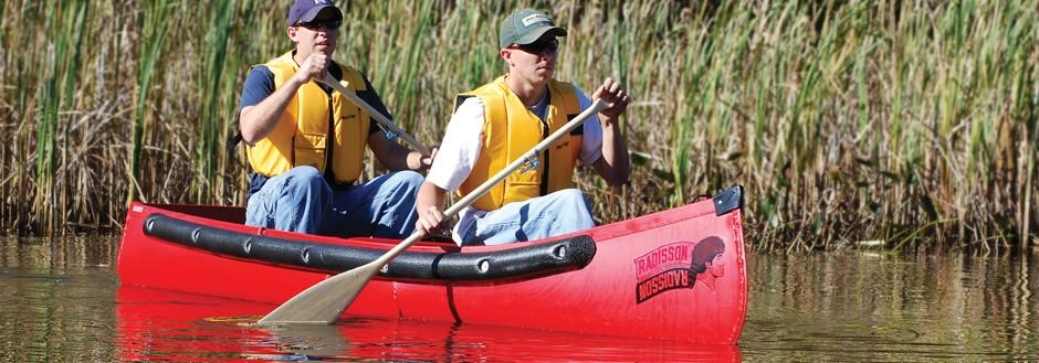 Radisson Wide Transom Canoes