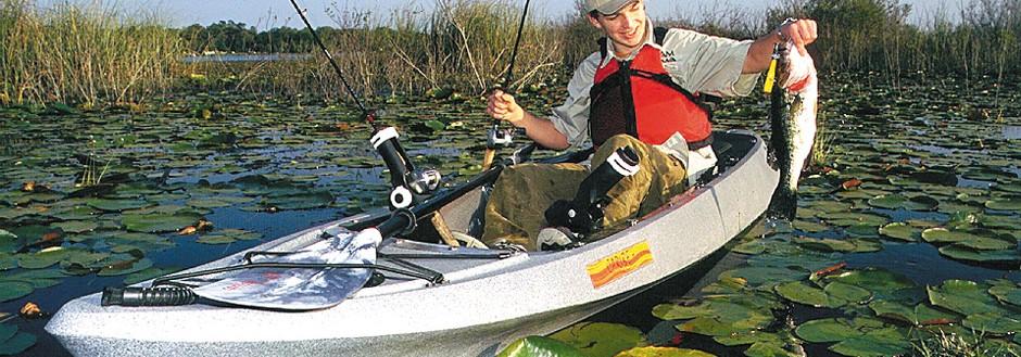 Kiwi Fishing Caribe Kayaks