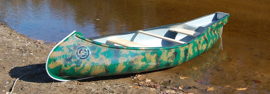Golden Hawk Square Stern Canoe